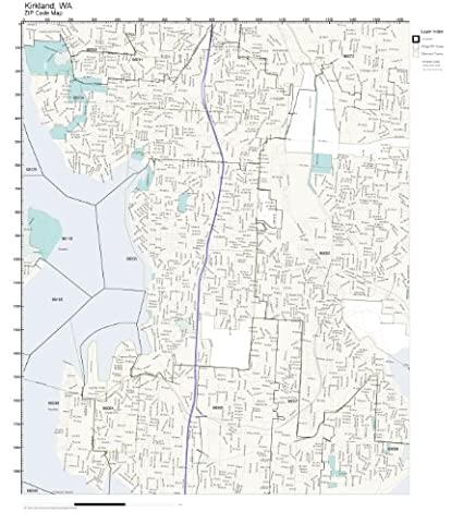Amazon.com: ZIP Code Wall Map of Kirkland, WA ZIP Code Map Laminated on longview map, south bellevue map, duvall map, newcastle map, des moines map, finn hill map, camano map, edmonds community college map, burien map, renton map, university place map, seattle map, mukilteo map, washington street map, gig harbor map, city of spokane valley map, parkland map, suquamish map, lake sawyer map, lynnwood map,