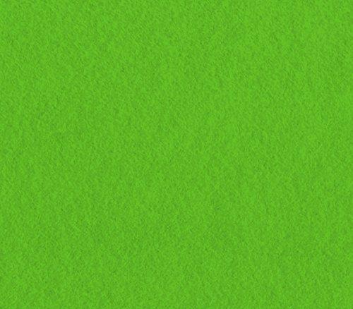 Acrylic Felt Fabric LIME / 72