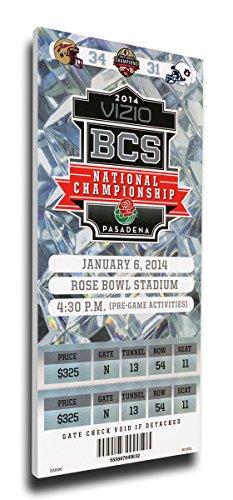 (That's My Ticket 2014 BCS National Championship Game Commemorative Mega Ticket Wall Decor, Florida State Seminoles)
