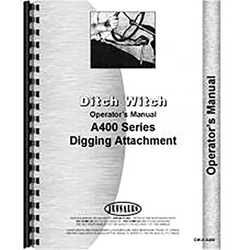 New Ditch Witch A400 Tractor Operators Manual for sale  Delivered anywhere in Canada