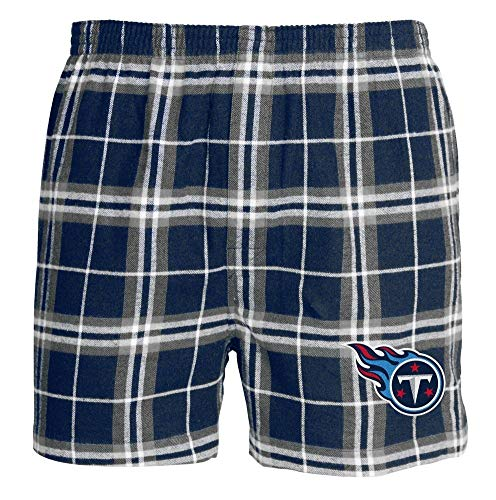 Concepts Sport Men's Tennessee Titans Boxer Shorts (X-Large) ()