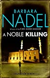 A Noble Killing by Barbara Nadel front cover