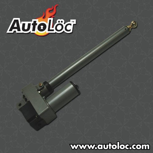 AutoLoc Power Accessories 9781 Autoloc Adjustable Linear Actuator with Rod Bearing (200 lbs Capacity)