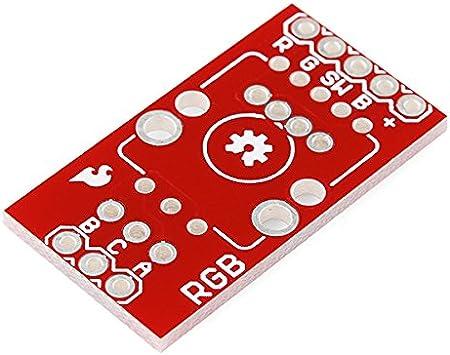 Illuminated SparkFun Rotary Encoder Red//Green COM-15140