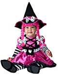 InCharacter Costumes Baby Girls' Wee Witch Costume, Black/Fuchsia, Large