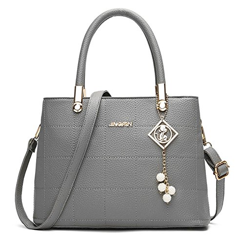 Leather Domybest Bag Tote Gray Bags Crossbody Handbag Fashion Ladies Women Messenger Pu aIqwgnxIp