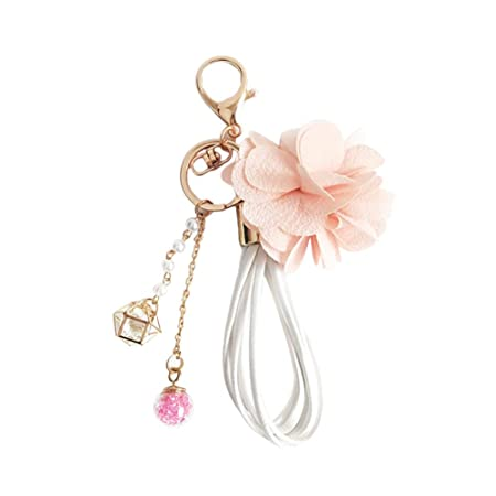 Lumanuby 1 Llavero Flor Rosa y Bolsa, para Mujer, con ...