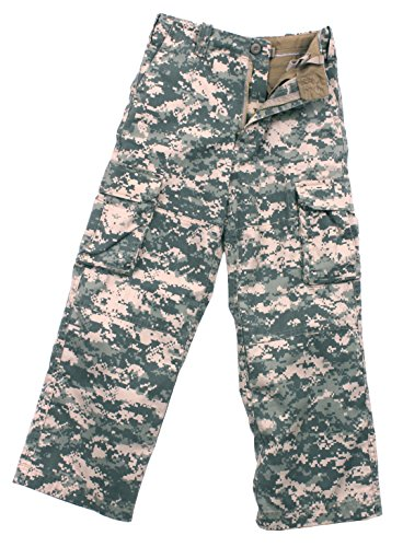 Rothco Kids Vintage Paratrooper Fatigue, ACU Digital Camo, Medium