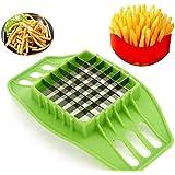 [Free Shipping] Fries Potato Chip Slicer Fruit Vegetable Chopper Cutter Tool // Papas fritas papas fritas herramienta de máquina de cortar fruta vegetal cortad