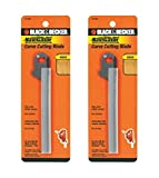 Black & Decker SC500 Handsaw Replacement (2 Pack) 74-592 Curved Cutting Saw Blade # 74-592-2pk