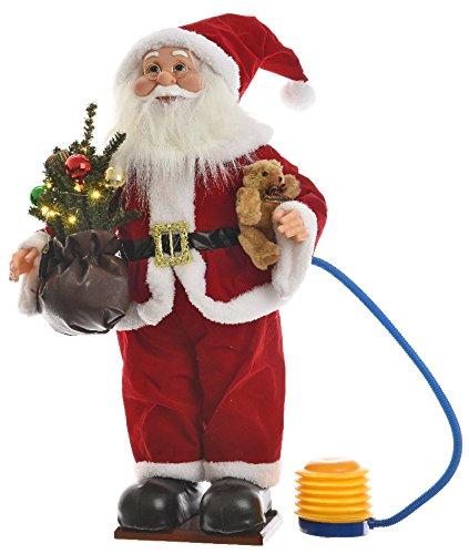 Papá Noel hinchable con árbol: Amazon.es: Hogar