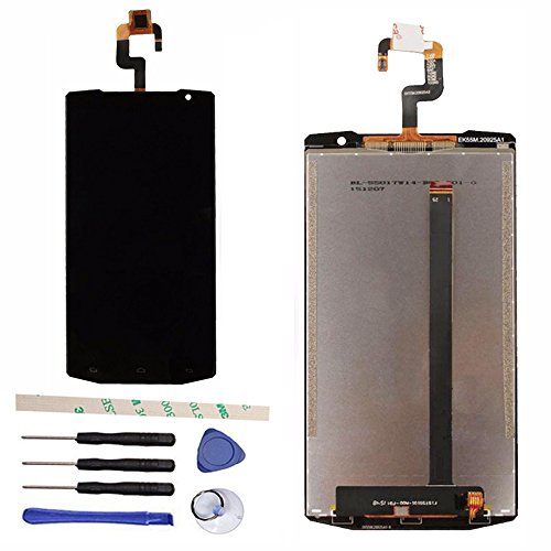 LCD Display Touch Screen Digitizer Assembly Replacement For Oukitel K10000 5.5'' Android Quad Core by General