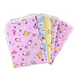 Softmusic Reusable Baby Infant Diaper Urine Mat Waterproof Cover Pad Baby Accessories Colorful 4031