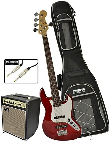 Bajo de 5 cuerdas para guitarra eléctrica con amplificador de 20 W ...