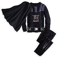 Disney Little Boys' Deluxe Darth Vader Pajama Set - Sizes (2-10)