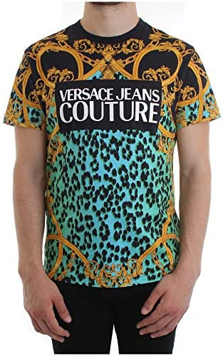 Versace Jeans Couture Herren T-Shirt Verde