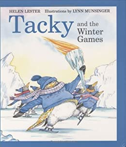 Tacky Winter games book for kids