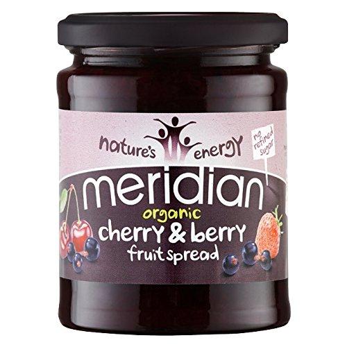 Meridian Cherry - (3 PACK) - Meridian - Org Cherry & Berr Fruit Spread | 284g | 3 PACK BUNDLE