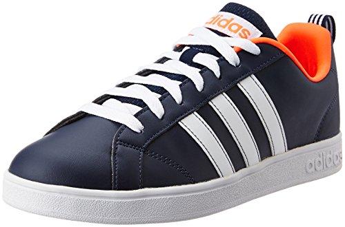 adidas Vs Advantage, Chaussures de Running Compétition Homme, Blanc, 40 2/3 EU Azul (Maruni / Ftwbla / Rojsol)