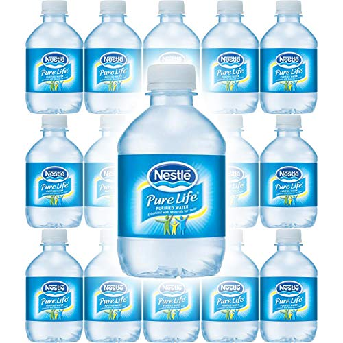 (Nestle Water, Pure Life, Purified Water, 8 Fl Oz (Pack of 15, Total of 120 Fl Oz))