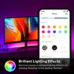 Kasa Smart LED Light Strip KL430, 16 Color Zones RGBIC, 6.6ft Wi-Fi LED Lights Work with Alexa, Google Home &IFTTT, No… 9