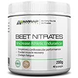 AMRAP Nutrition - Pure Beet Juice Powder - All-Natural - Organic - Optimal Nitric Oxide Support for Increased Endurance - With Electrolytes offers