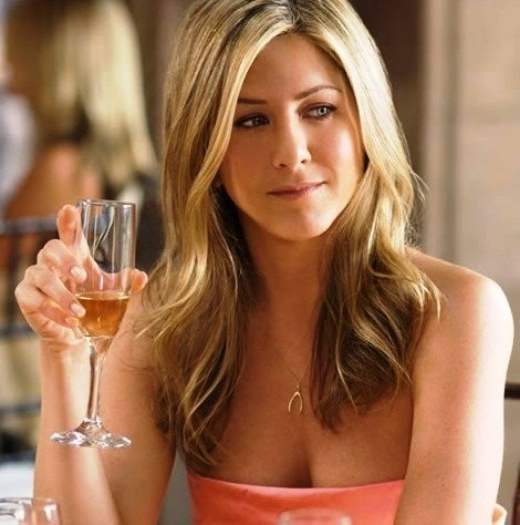 aniston wishbone necklace Jennifer