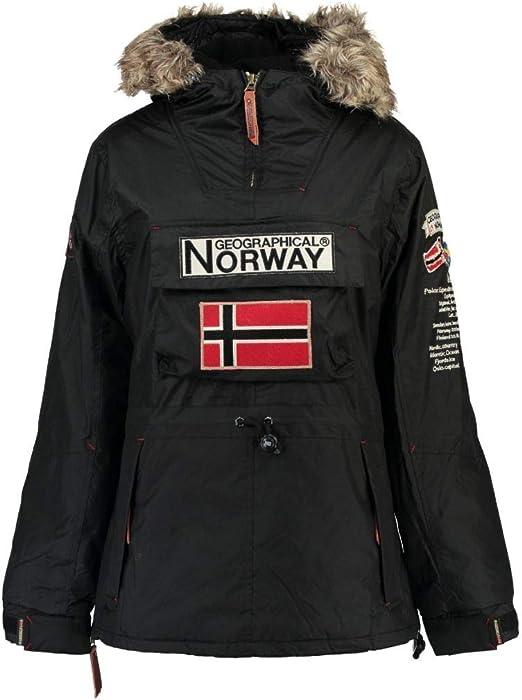 Geographical Norway Parka NIÑA BOOMERA 068 rol 7+BS: Amazon.es: Ropa y accesorios