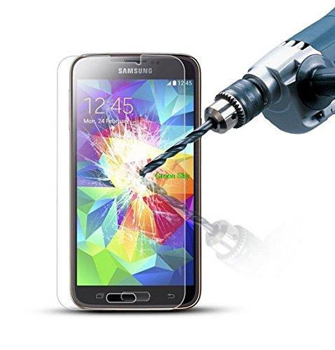 Conber 9H H/ärte 1 St/ück Panzerglas Schutzfolie f/ür Samsung Galaxy J5 2015 H/üllenfreundlich Displayschutzfolie kompatibel mit Samsung Galaxy J5 2015