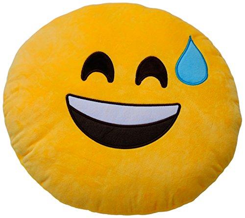 Emoticonworld Cojín Emoticono: Amazon.es: Hogar