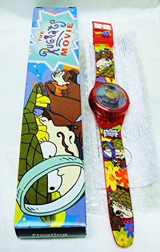 rugrats-in-paris-floating-flowers-lcd-watch-new-in-box