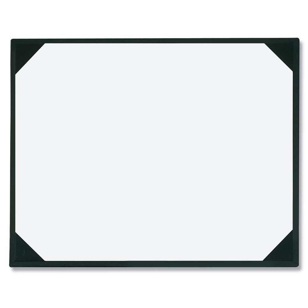Black Leatherette Award Boards with Acetate Overlay, 9 x 11-½ Inches, Pack of 3