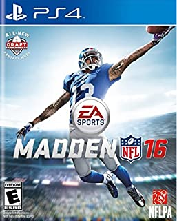 Madden NFL 16 - PlayStation 4 (B00W435BU0)   Amazon price tracker / tracking, Amazon price history charts, Amazon price watches, Amazon price drop alerts