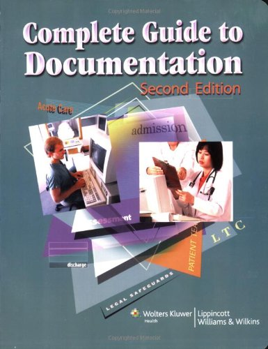 Complete Guide to Documentation (LWW, Complete Guide to Documentation)