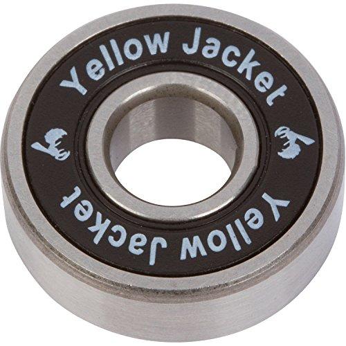 Yellow Jacket Premium Inline Skate Bearings, Roller Skate Bearings, 608, ABEC 11, Black Mamba (Pack of 16) Premium Bearings