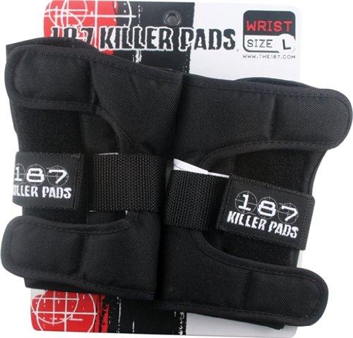 187 Black Large Wrist Guards