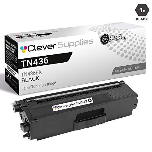 CS Compatible Toner Cartridge Replacement Brother TN436 TN-436 TN436BK Black for HL-L8360CDW HL-L8360CDWT HL-L9310CDW HL-L9310CDWTT MFC-L8900CDW MFC-L9570CDW MFC-L9570CDWT