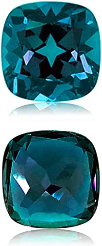 Lab Created Alexandrite Asscher shape AAA Quality from 5MM-8MM