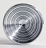 YoYoFactory Turntable Yo-Yo - 7075 Aluminum - RAW (Silver)