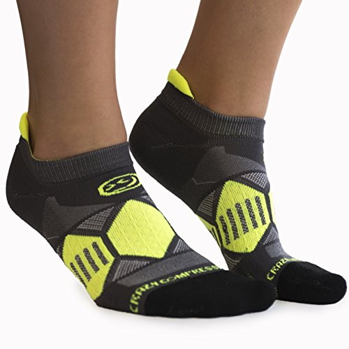 Crazy Compression Runners - Elite Compression Running Socks (MD/LG (9-13), - Training Running Elite