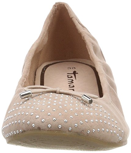 Tamaris Damen 22122 Geschlossene Ballerinas Pink (Old Rose)