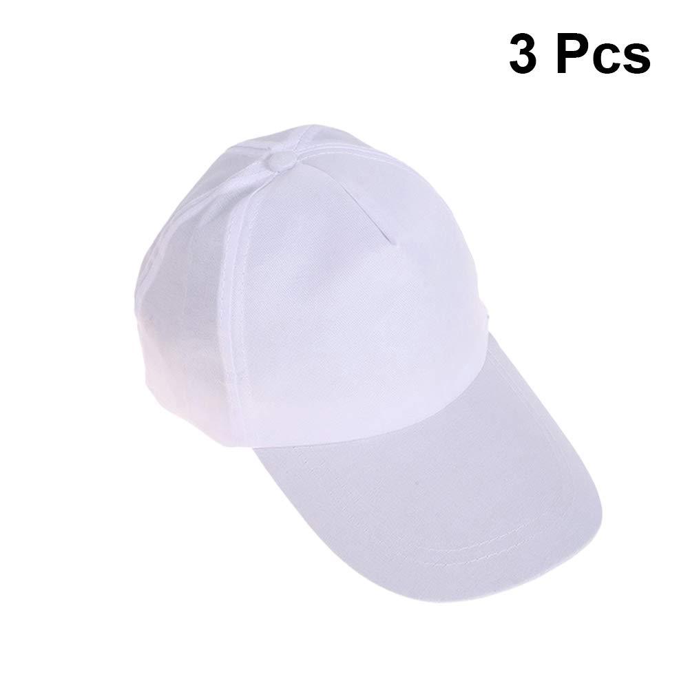 SUPVOX 3Pcs Gorra de béisbol de Graffiti Sombreros de béisbol en ...