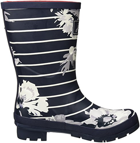 Navy Posy Joule Stivali Donna Gomma Tom Stripe Mollywelly French Blau di Fzaxawq87