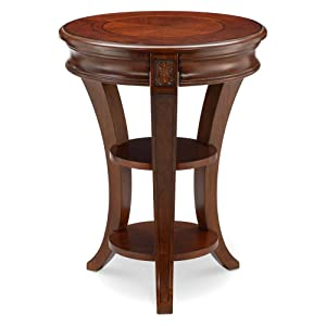 "Magnussen T4115-35 Winslet Round Accent Table, 26"" x 20"" x 20"""