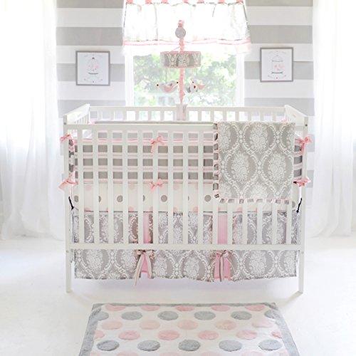 My-Baby-Sam-Olivia-Rose-Bumper-PinkGray