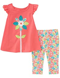 Girls' Tunic Set-Capsleeves