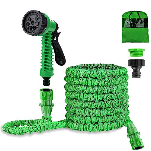 Liwiner 1 Garden 100FT 3 Times Expanding Flexible Magic Lightweight Hose...