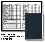 Livro Fiscal - Registro De Apuraçao Do Icms - Modelo 9-50 Folhas - Sao Domingos 5701.8
