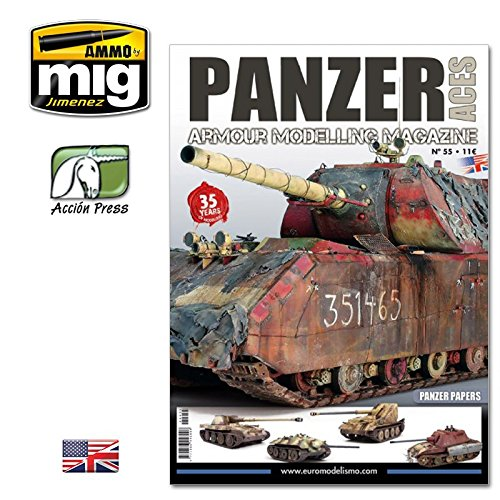 Modelling Magazine - AMMPA0055 Panzer Aces Armor Modelling Magazine #55 - Panzer Papers