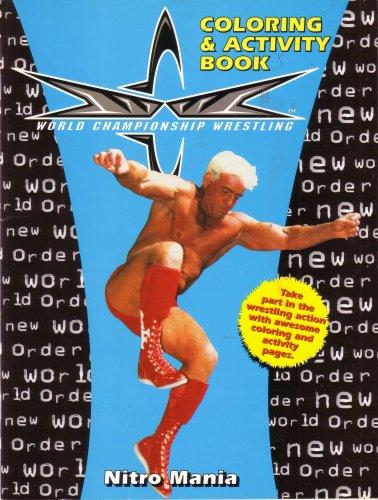 Wcw Nitro Mania Coloring Activity Book Amazon Com Books